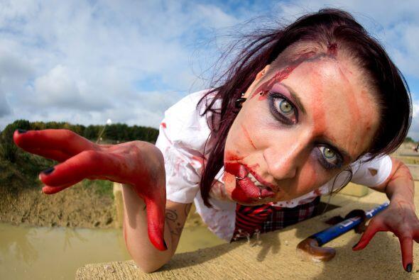 Probablemente, la carrera en campo abierto para huir de hambrientos zomb...