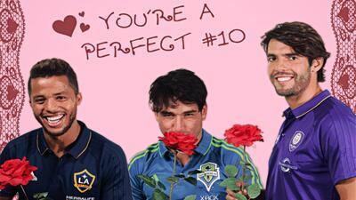 Celebra tu San Valentín con estos galanazos de la MLS