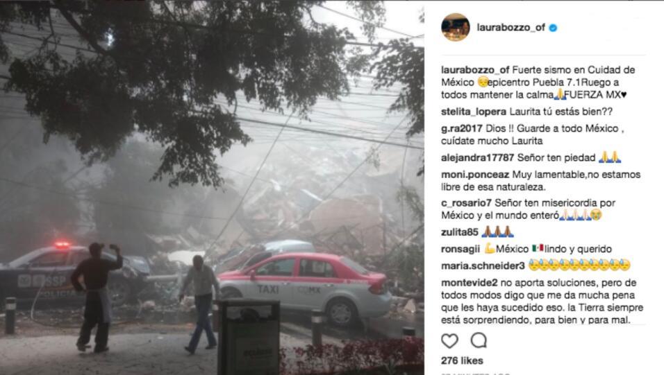 La conductora peruana Laura Bozzo hizo un llamado a la calma.