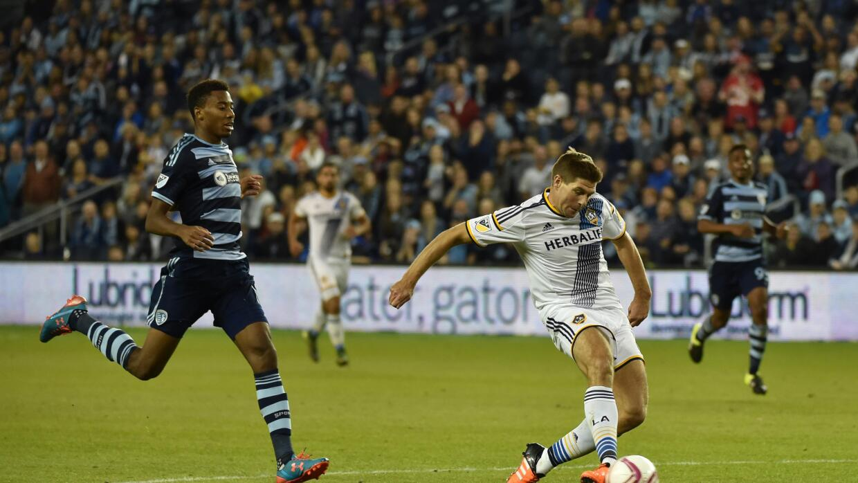 Steven Gerrard vs. Sporting KC