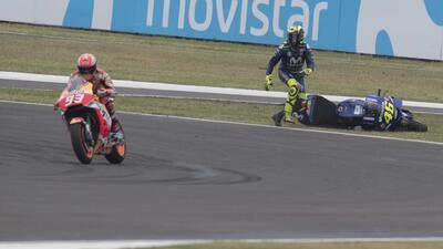 En fotos: La guerra continúa entre Valentino Rossi y Marc Márquez