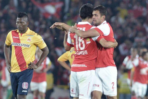 En el 2014 disputan el preclasificatorio ante el Independiente Santa Fe...