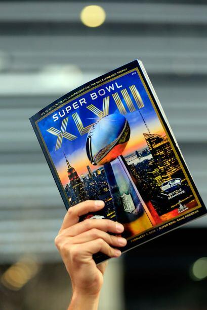 El programa del Super Bowl XLVIII.