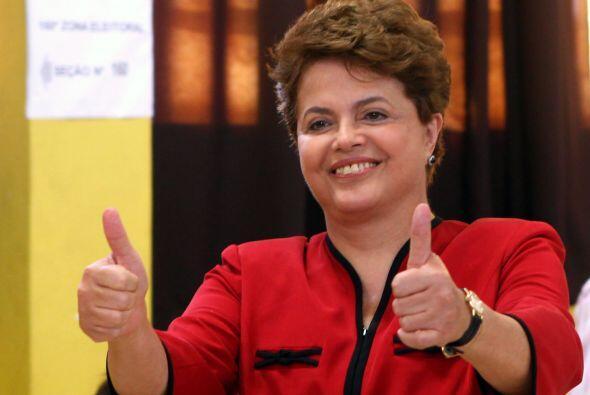 Dilma Rousseff se convirtió el sábado en la primer mujer p...