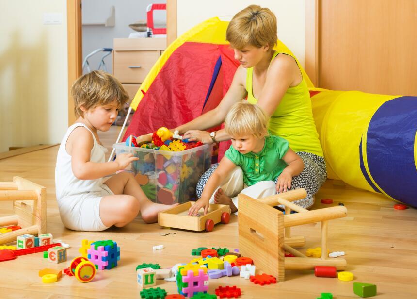 Claves para ordenar el cuarto de los ni os univision - Ordenar habitacion ninos ...