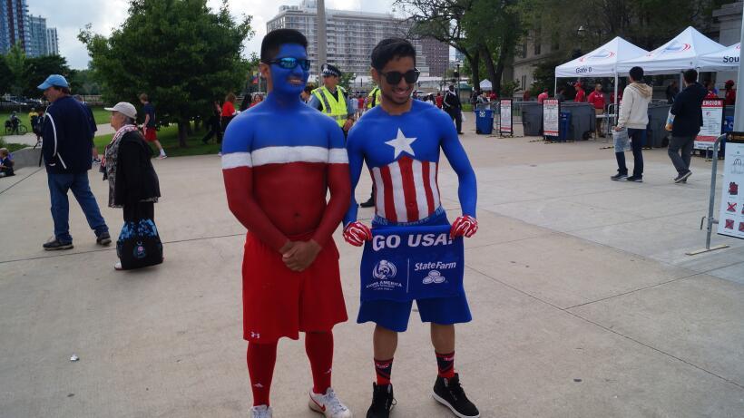 Los aficionados de Estados Unidos y Costa Rica se dieron cita en el Sold...