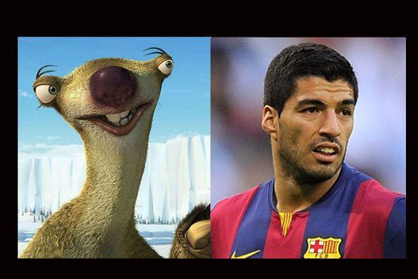Para Suárez habíamos pensado en un disfraz de canino salvaje, pero en bu...