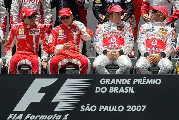 Sus únicos rivales al inicio de la temporada eran los pilotos de la Ferr...
