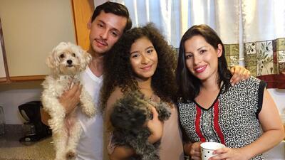 Aimeé nos presentó a su familia