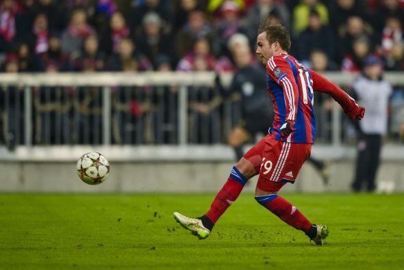 En el último respiro del encuentro, Robert Lewandowski sirvió para Mario...