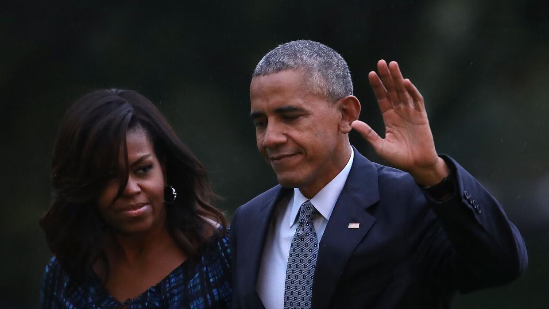Antes de que Barack Obama conociera a Michelle en Chicago, él tuvo una i...