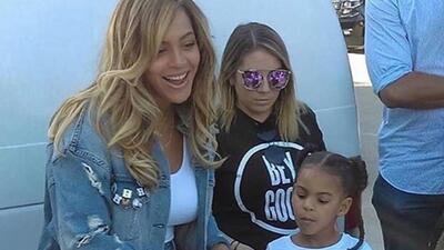 Beyonce y su hija Blue Ivy, al rescate de las víctimas del huracán Harvey