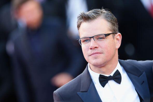 Matt Damon también forma parte del club de los $20M, según reportó The H...