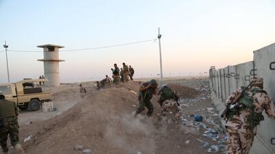 EE.UU. bombardea posiciones del grupo Estado Islámico en Irak