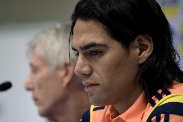 El delantero colombiano Radamel Falcao perdió la batalla que tenía contr...