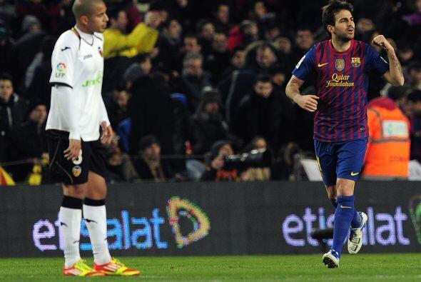 Cesc ha tenido un gran primer torneo con el Barcelona, tanto con goles c...