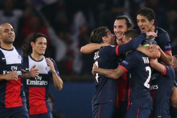 Zlatan ha hilado algunos partidos marcando o asistiendo a otros compañeros.