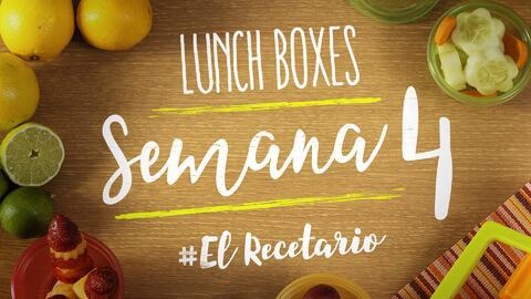 Regreso a clases: diviértete preparando lunch boxes (Semana 4)