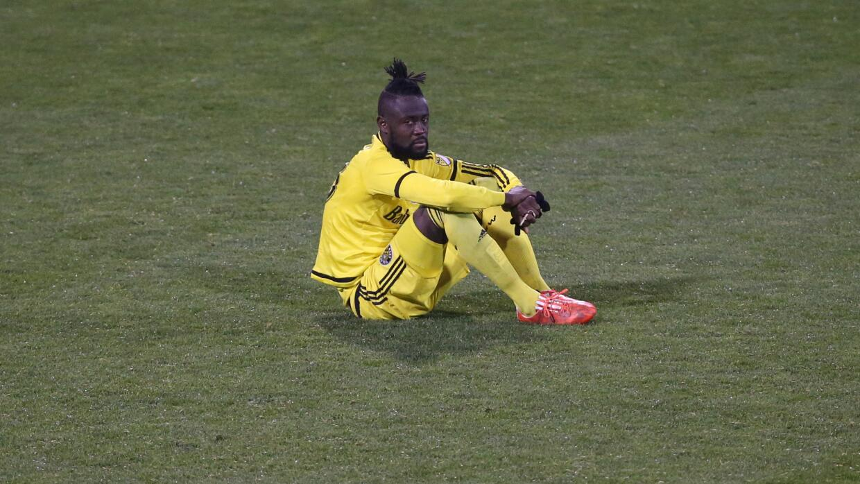 Kei Kamara, desconsolado