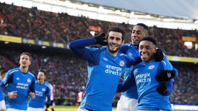 En fotos: Sin Chucky, PSV Eindhoven derrotó 1-3 a Feyenoord en duelo clave de Eredivisie