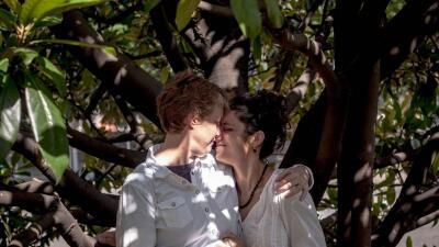 Sophy y Valeria, una de las parejas entrevistadas para 'Campeones de la...
