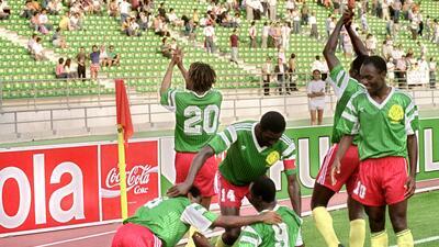 Historias de Mundiales: la rebelión de África negra con Camerún en el fútbol