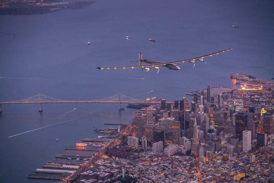 El viaje alrededor del mundo de aeronave solar