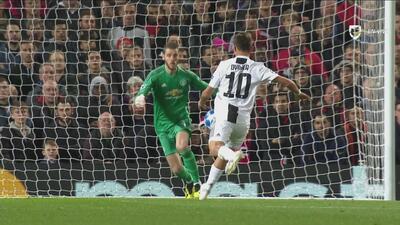 Este fue el gol de la Juve tras la magistral jugada de Ronaldo