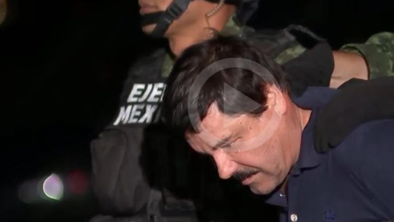 """Presentan a """"El Chapo"""" Guzmán"""