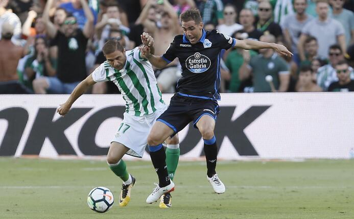 El Betis le ganó al Deportivo y Guardado puso asistencia 636411843964916...