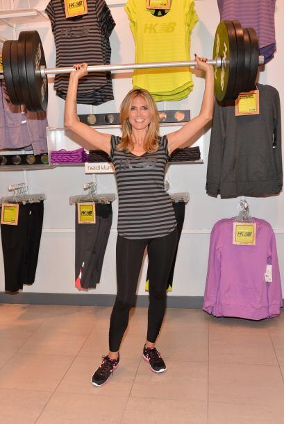 Hay mamás al estilo Heidi Klum que aman estar en forma. Si la tuya es as...