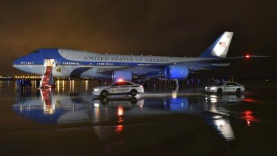 Así es el Air Force One, el avión que transporta al presidente de EEUU