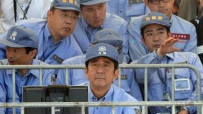 Shinzo Abe, primer ministo japonés.