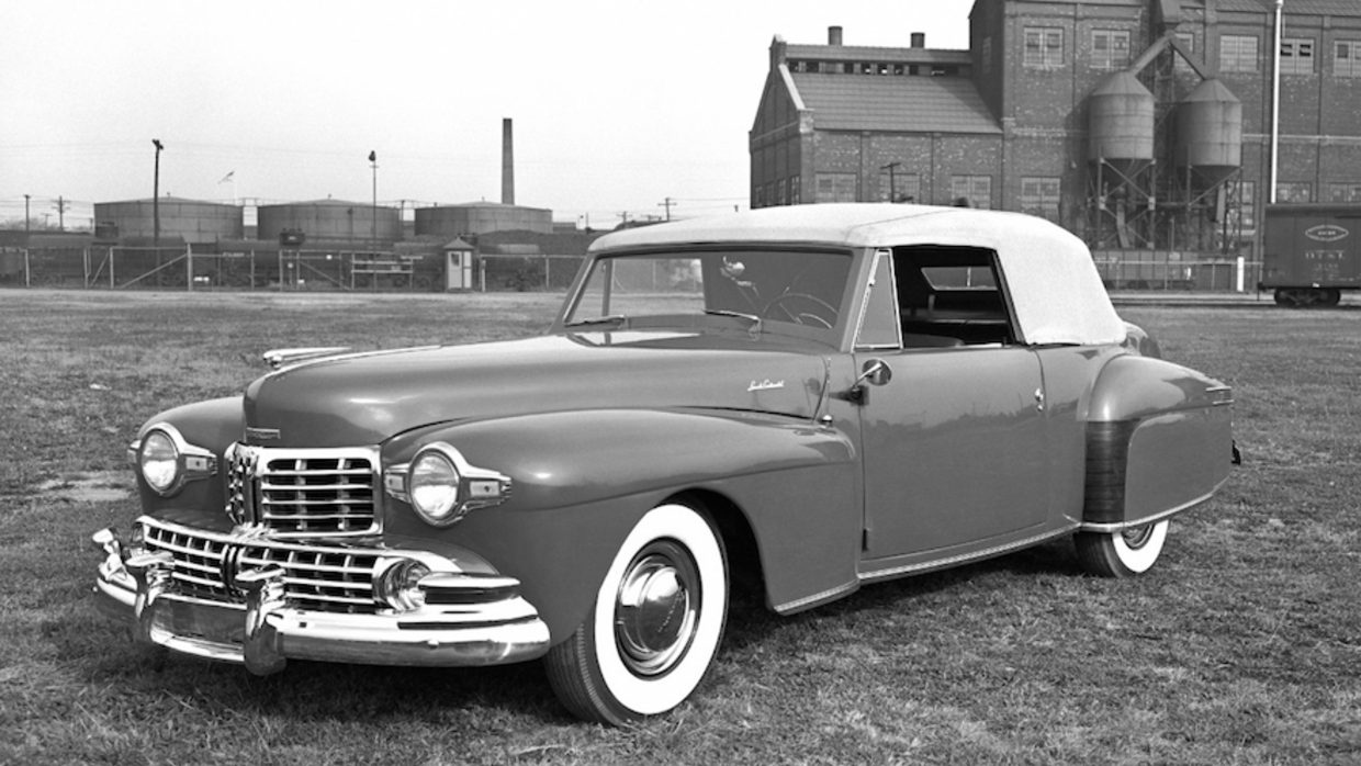 Lincoln Continental Cabriolet 1948
