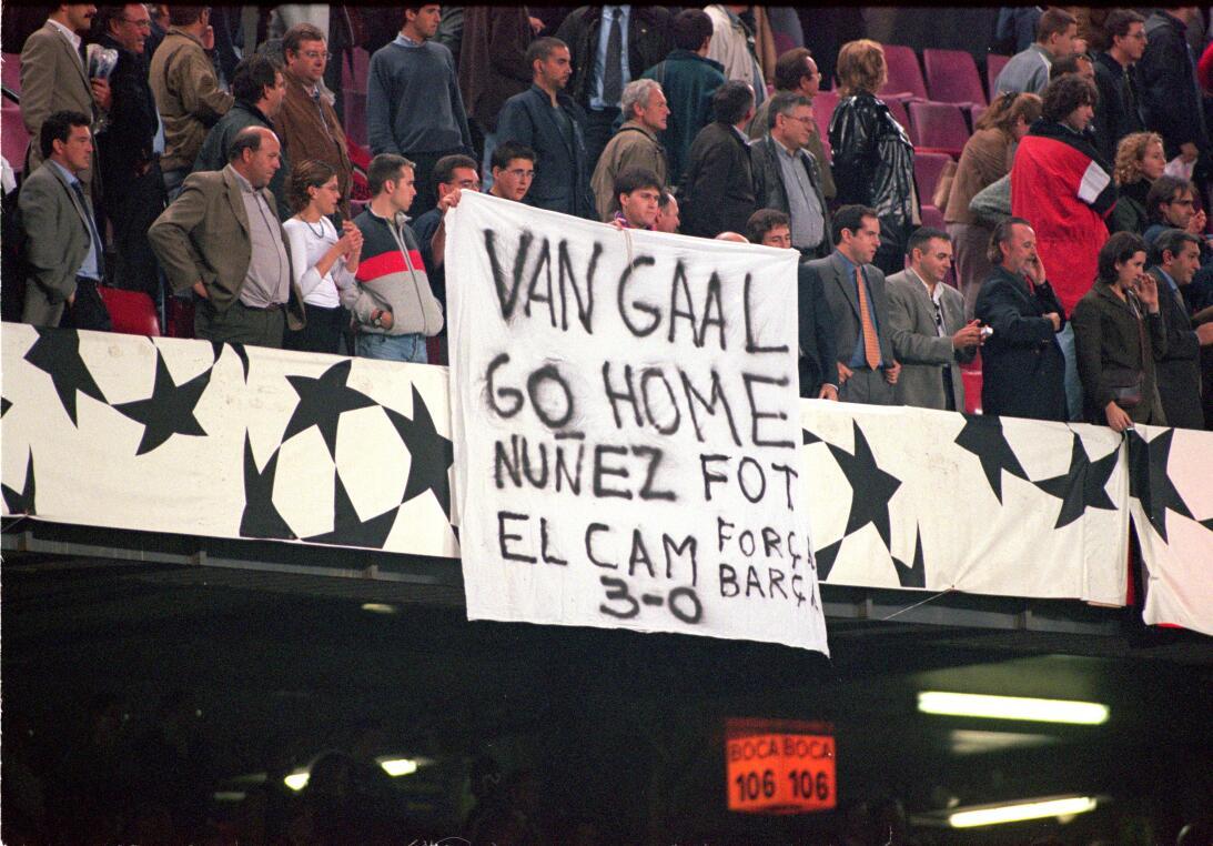 La carrera de Louis Van Gaal y el fin de una trayectoria ejemplar como t...