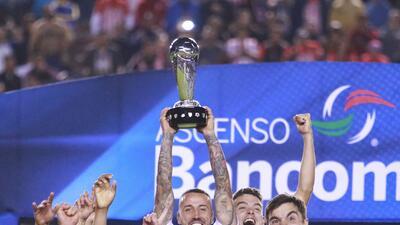 Así festejó el Atlético San Luis en el Alfonso Lastras luego de proclamarse campeón
