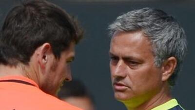 Mourinho dijo sobre el capitán madridista que ''está entrenando bien y t...