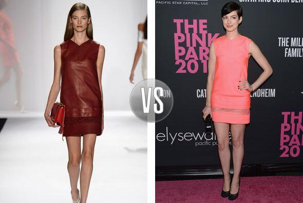 Anne Hathaway lució bellísima en el evento The Pink Party con una creaci...