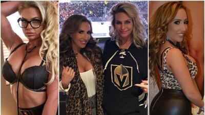 Dos actrices porno llaman la atención por ser nuevas porristas de un equipo de hockey