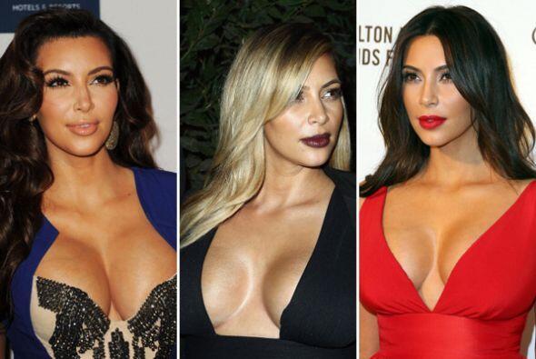 Las modas que luce Kim Kardashian siempre son tema de conversació...