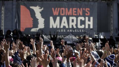 Marcha de las Mujeres en Los Ángeles 2018