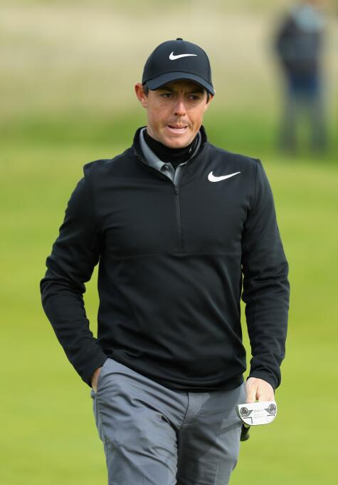 8. Rory Mcllroy (Golfista) - ingresos por 50 millones de euros en el 2017