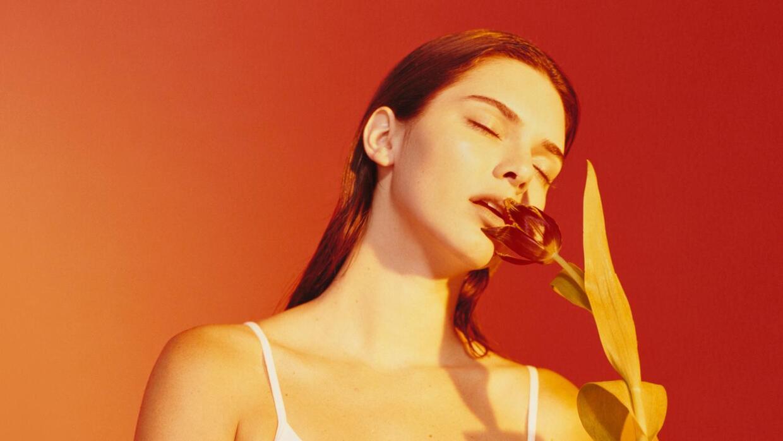 La modelo Kendall Jenner en la nueva campaña de la marca de ropa...