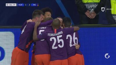 David Silva se viste de héroe y marca el segundo gol del Manchester City