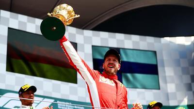 En fotos: La victoria de Sebastian Vettel en el Gran Premio de Gran Bretaña