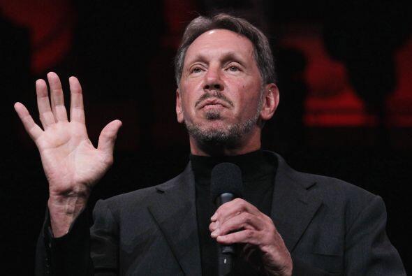 LARRY ELLISON- En sólo un año la fortuna del jefe de Oracle aumentó $11....