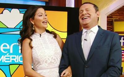 Alan descansó de los chistes de Ana Patricia, pero este lunes no se salvó