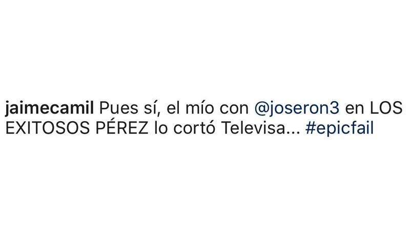 Jaime Camil Instgram