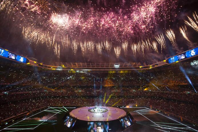 Así fue la celebración del Real Madrid camino al pletórico Bernabéu Gett...