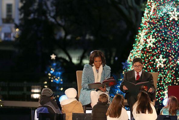 """La primera dama, Michelle Obama, se unió a la estrella de """"Modern Family..."""